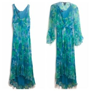 Boston Proper Silk Dress Size 4